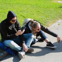 селфи в ливадийском парке :: Лидия кутузова