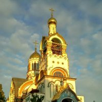 Храм Великого князя Владимира в Сочи :: Антонина Владимировна Завальнюк
