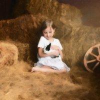 Девочка с кроликом :: Анна Гостева