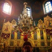 Внутреннее убранство храма прпд Зосима и Савватия. :: Екатерррина Полунина