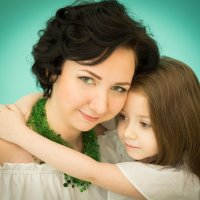 Мама и дочка :: Ирина Вайнбранд