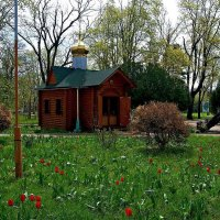 Часовня в честь Почаевской иконы Божией Матери :: Александр Корчемный