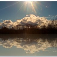 весеннее отражение... :: ВладиМер