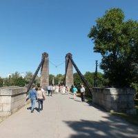 Остров. Северный подвесной мост :: Николай