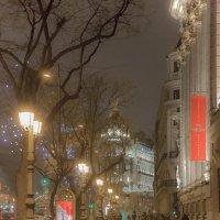 Дождливый вечер в Мадриде :: Александр Метт