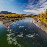 Осенний ледоход :: Альберт Беляев
