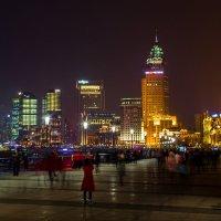 Ночной Шанхай :: Olga Lakeeva