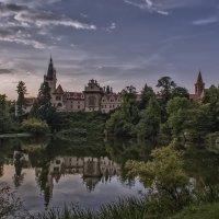 отражение старинного замка :: Olena