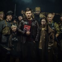 "D. Glukhovsky and the characters ""Metro 2033"" :: Сергей Споялов"