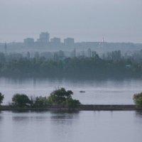 Туманное утро над рекойю :: Владимир Бочкарёв