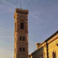 Башня Duomo Ferenza на закате :: M Marikfoto