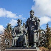 Памятник зодчим Казанского кремля :: Elena Ignatova
