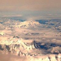 Над Швейцарскими Альпами :: Эльдар (Eldar) Байкиев (Baykiev)