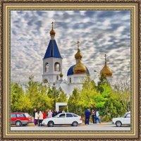 У храма :: Анатолий Чикчирный