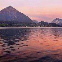 ярко-розовый рассвет :: Elena Wymann