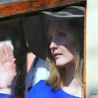 женский образ за стеклом :: Олег Лукьянов