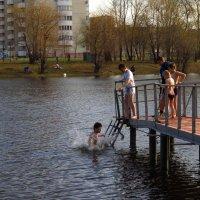 Открытие купального сезона :: Андрей Лукьянов