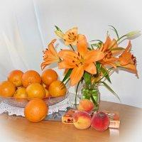 Оранжевое настроение... :: Galina Dzubina