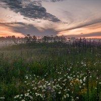 Туманный закат :: Наталия Горюнова