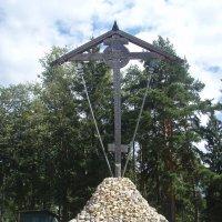 Большой Поклонный крест на Бутовском полигоне :: Наталия П