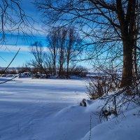 Река в снежном плену :: Игорь Ковалевский