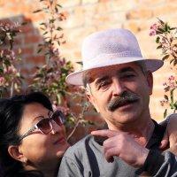 Первомайский портрет с женой :: Юрий Гайворонский