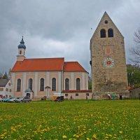 Монастырь Весобрун - бенедиктинский монастырь в Баварии :: Galina Dzubina