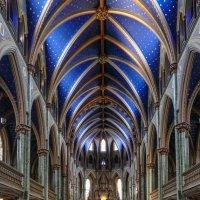 Интерьер собора Нотр-Дам в Оттаве (Канада) :: Юрий Поляков
