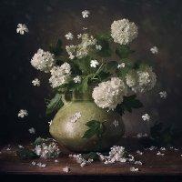 Осыпается белая снежность шаров бульденежа... :: Татьяна Карачкова