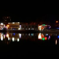 ночь в Севастопольской бухте :: Андрей Козлов