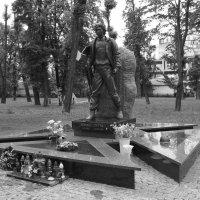 Могила   Романа   Гурика :: Андрей  Васильевич Коляскин