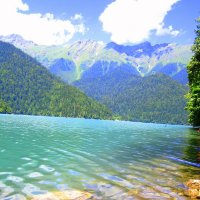 Озеро Рица :: Yuliya Nesterenko