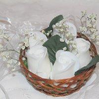 Корзинка с розами :: Marina Pavlova