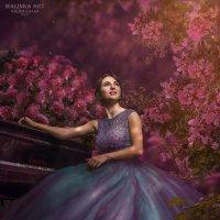"""Влюбленная -In Love"" :: Malinka Art Galina Paigetova"