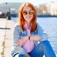Рыжик Ксюша :: Екатерина Алексеенко