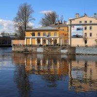 Вид на Галерный остров с площади Репина :: Татьяна [Sumtime]