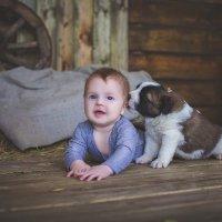 Я и щенок :: (AlexD) Алексеев Дмитрий