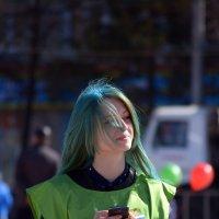 девушка с зелёными волосами :: Андрей + Ирина Степановы