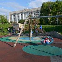 Детская площадка. :: Anna Gornostayeva