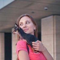 Дама с собачкой :: Андрей Майоров
