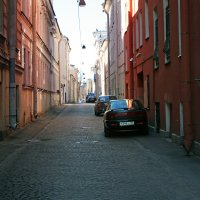 Улица Репина :: Ирина Румянцева