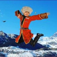 """Зажигательный горский танец...""""лезгинка"""". :: Anatol Livtsov"""