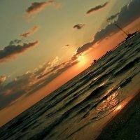 Закат на море :: Анастасия Смирнова