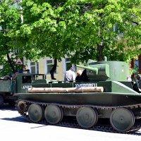 Танк БТ-5 (быстрый танк) :: Владимир Болдырев