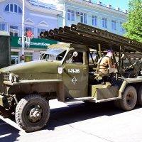 Реактивная система залпового огня БМ-13 «Катюша» :: Владимир Болдырев