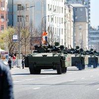 В Москве прошла генеральная репетиция парада Победы :: Павел Myth Буканов