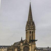 Церковь Святого Петра . г Кан Франция :: Владимир Леликов