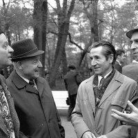 С днём ПОБЕДЫ! Ветераны 9 мая 1979 г. (мой отец справа) :: Юрий Поляков