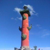 Ростральная колонна. (Санкт-Петербург). :: Светлана Калмыкова