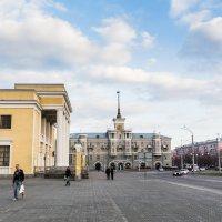 Барнаул. Площадь октября. :: Иван Иванов